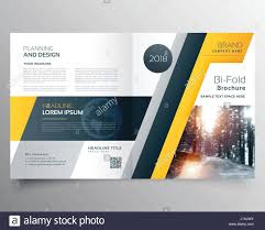 Page Design Stylish Business Bifold Brichure Or Magazine Cover Page