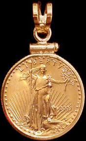 5 dollar american eagle gold coin pendant pcm8 5e touch to zoom