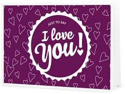 eccoverde i love you printable gift certificate
