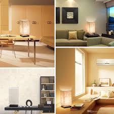Großhandel Einfache Tischlampe Nachttischlampe Mit Stoffschirm Und Massivholz Für Schlafzimmer Kommode Wohnzimmer Babyzimmer Studentenwohnheim