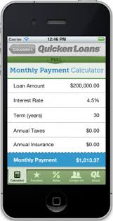 Quicken Loans Introduces Free Mortgage Calculator App Real