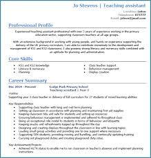 Teacher Assistant Resume Classy Classroom Assistant Cv Kazanklonecco