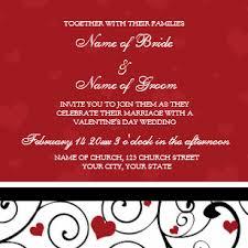 Valentines Day Wedding Invitations Zazzle