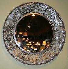 Small Picture Contemporary Black Woven Metal Wall Mirror Modern Art Extra Large