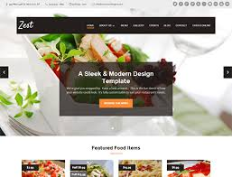 Restaurant Website Templates Simple Restaurant Web Templates Goalgoodwinmetalsco