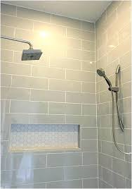 shower wall tiles tile shelf mosaic hexagon floor tile a searching for linear light gray shower
