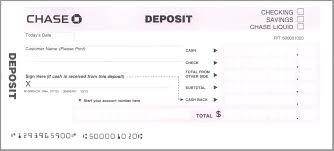 5 Free Deposit Slip Templates Small Business Resource Portal