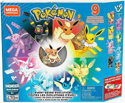 Mega Construx Pokemon Every Eevee Evolution! Pack for sale online