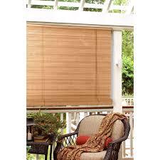 Radiance Venezia Flatstick Indoor/Outdoor Woven Wood Bamboo Roll Up Window  Shade | Hayneedle