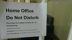 work for the home office. home office do not disturb work for the h