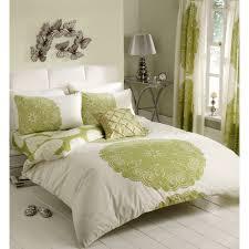 cream bedding set curtain