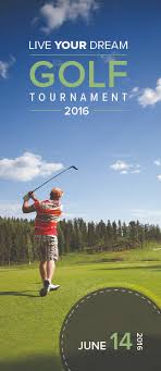 Golf Tournament Brochure - Ben Pingel:: Portfolio