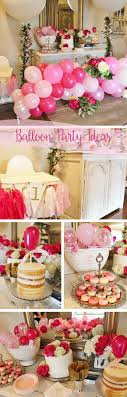 Balloon Party Theme, Ballon Birthday Party Ideas, Pink Balloon Decor Ideas,  Balloon Decor