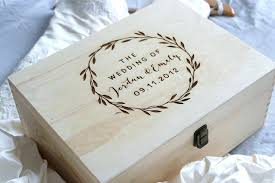 wedding keepsake box personalised australia