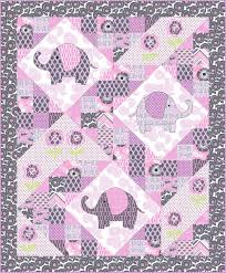 35 best Piecin' Love Patterns & Quilts images on Pinterest | Hand ... & ~free pattern ~ Elephant pop Quilt, including elephant templates for  applique, by Marinda Adamdwight.com
