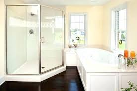 how to install a shower stall ser stll lbor nd oatey base drain installing over floor