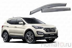<b>Дефлекторы окон с хром</b> молдингом «НЕРЖАВЕЙКА» Hyundai ...