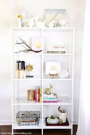 Decorating Shelves in the Dining Room: