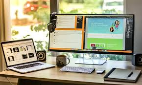 office desktop computer. Simple Desktop 22 Amazing Desk Setups And How To Make Your Own And Office Desktop Computer R
