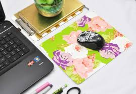 learn how to create a custom mouse pad using recycled cardboard and wrapping paper this