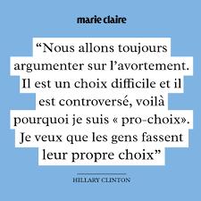 Hillary Clinton En 10 Citations Marie Claire