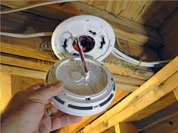 how to install a hardwired smoke alarm ac power and alarm wiring kidde pi2010 smoke alarm trim plate and ac quick connect installation