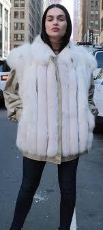 fur coats for woman