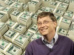 Bill Gates Money Cartoon (Page 1) - Line.17QQ.com