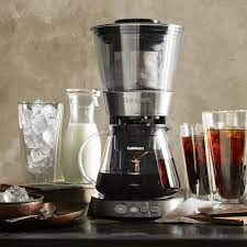 Do you want your coffee to be grind & brew together in one machine? Cuisinart Automatic Cold Brew Coffee Maker With Glass Carafe Williams Sonoma