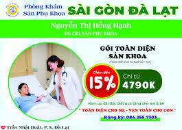 Phòng khám Sản phụ khoa Sài Gòn Đà Lạt – Dịch vụ từ trái tim