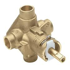 brass rough in posi temp pressure balancing cycling tub and shower valve