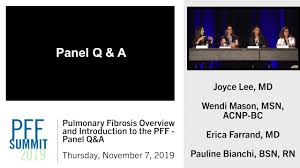 Pulmonary Fibrosis Overview and Introduction to the PFF : Panel Q&A -  YouTube