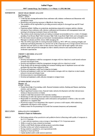 Credit Analyst Resume Example 10 11 Credit Analyst Resume Example Tablethreeten Com