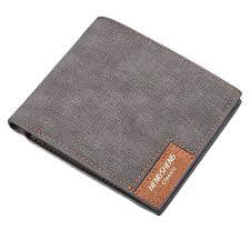 new short wallet men s fashion casual canvas bag ultra thin soft wallet business men s wallet