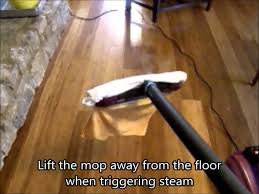 steam mopping wood floors a short how to