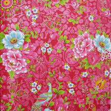 Eijffinger Pip Studio Behang Flowers In The Mix Rood Ikeniknl
