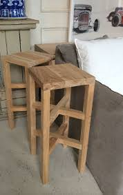 Modern and Contemporary Tall Wooden Bar Stool in Recycled Elm | Urban  Couture - Designer Homewares