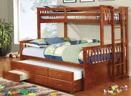 queen bunk bed with trundle. Simple With Fabulous Twin Over Queen Bunk Bed With Trundle With  To Pinterest