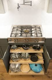 Pull Out Drawers For Kitchen Cabinets Made To Fit Slide Shelves