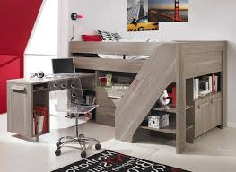 Bedroom : Bunk Beds For Kids With Desks Underneath Cabin Baby  In Bunk Bed  With