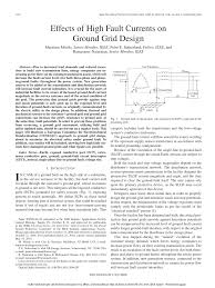 Earth Mat Design Calculation Pdf Pdf Effects Of High Fault Currents On Ground Grid Design