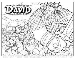 Small Picture David Coloring Page by ArtistXero on DeviantArt