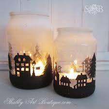 Decorated Jam Jars For Christmas Mason Jar Christmas Decorating Ideas Clean And Scentsible 95