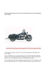 1984 1998 harley davidson 1340 flh flt fxr all models motorcycle 1984 Harley Davidson Wiring Diagrams 1984 1998 harley davidson 1340 flh flt fxr all models motorcycle workshop repair service manual by greace clark issuu 1984 harley davidson wiring diagram