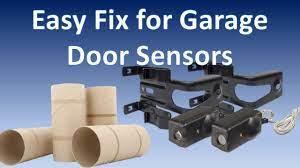 super simple garage door sensor fix