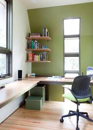 Image Furniture Ideas Corner Office Design For Small Spaces Lushome 30 Corner Office Designs And Space Saving Furniture Placement Ideas