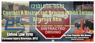 It's illegal to drive without insurance in california. Los Angeles Distracted Eating And Driving Attorneys Is Eating And Driving Reckless