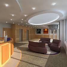 office reception interior. office reception interior scene 3d model
