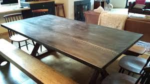 zinc top table zinc tables zinc top table diy round zinc table top diy