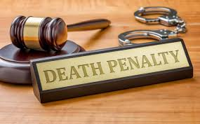we need to contemplate on the pros and cons of capital punishment gavel and a plate the engraving death penalty
